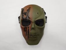 Green Skull BB Mask